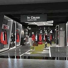 InCause品牌服装专卖店